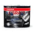 Żarówki OSRAM HB3 65W NIGHT BREAKER Unlimited +110% PLUS Box 2 szt