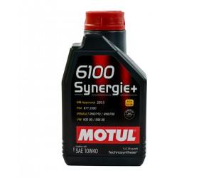 <span style='font-size:16px;font-weight:bold;'>Olej silnikowy Motul 6100 Synergie+ 10W/40 1L</span><br /><span style='font-size:10px'>Zdjęcie 1 z 2</span>
